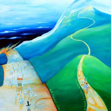 Der schmale Weg (Psalm 23)