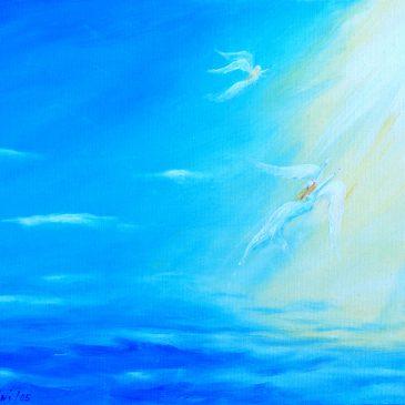 Engel im Licht