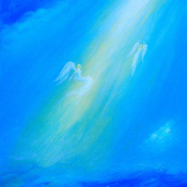 Engel im Licht I