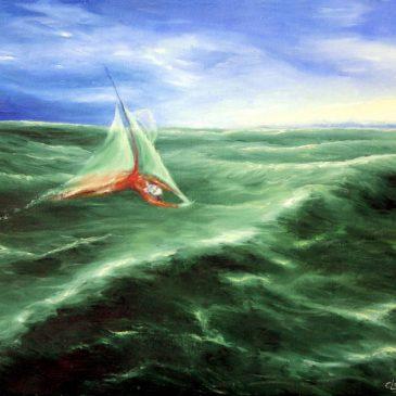 Die Wellenseglerin