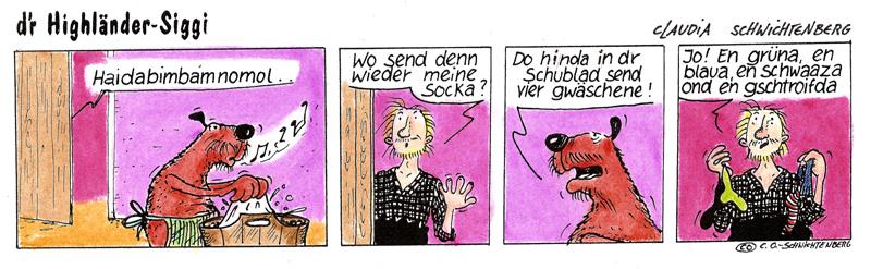 dr`Highländer-Siggi  (Waschdag)