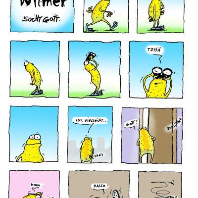 Wilmer sucht Gott: Seite 1