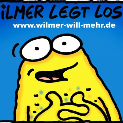 Postkarte: Wilmer legt los