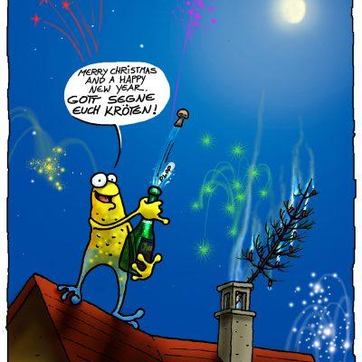 Poster: Prost Neujahr!