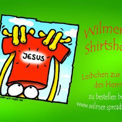 Postkarte: Wlimers Shirtshop  www.wilmer.spreatshirt.de