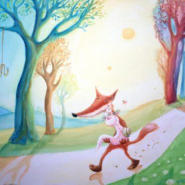 Fuchs und Schnecke