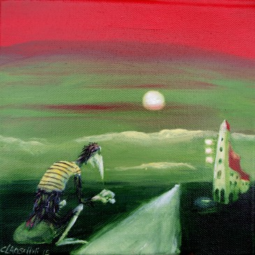 Roadmovie mit Krähe