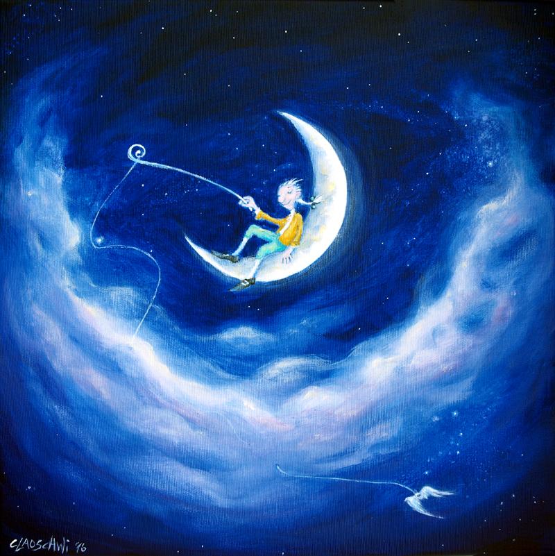 Mozart im Mond